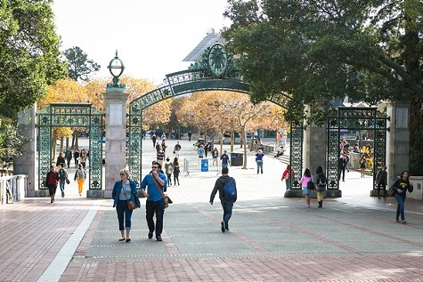 UC Berkeley campus.