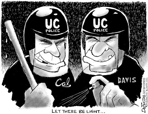 UC Police Vs. Occupy