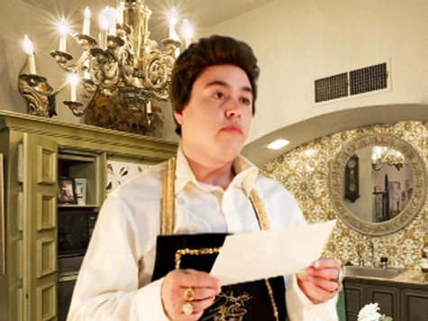 Vargas as Liberace in a still from the film