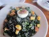 JESSE HIRSCH - Vera Ciammetti's kale salad at Guest Chef.