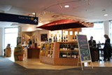 Vino Volo's Oakland Airport location offers wine by the glass, bottle, and flight.