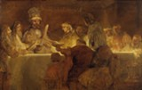 Virgo, you can learn a lesson from Rembrandt, who chopped three-fourths of The Oath of Claudius Civilis.