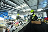 COURTESY OF WASTE MANAGEMENT - Waste Management may slash numerous jobs at its San Leandro facility.