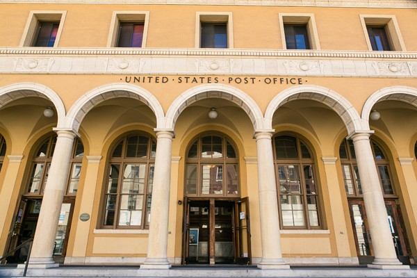 Berkeley post office. - STEPHEN LOEWINSOHN/FILE PHOTO