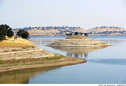 EBMUD's Camanche Reservoir in the Sierra foothills. - EBMUD