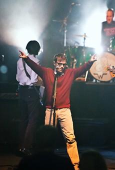 Weezer at the Nob Hill Masonic Center in San Francisco, November 29, 2010.