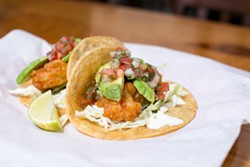 "The Shrimp ""Fenix"" at The Half Orange is one of the many dishes that will be featured during Oakland Restaurant Week. - BERT JOHNSON / FILE PHOTO"