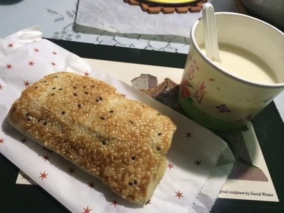 A couple of Taiwanese breakfast staples. - LUKE TSAI