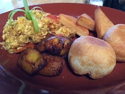 "The ""Jamaican Breakfast."" - LUKE TSAI"