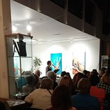 PHOTO BY WENDY STERNDALE AT MARCH 12 EVENT - Why There Are Words Literary Reading
