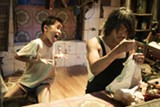Xu Jiao as Dicky Chow, and  Stephen Chow as Ti Chow