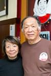 Yasuyuki Murata and Tamiko Murata, owners of Muracci's.