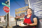 CHRIS DUFFEY - Yolanda Cisneros' chicken mole is El Taco Oaxaco's crowning taste of Juxtlahuaca.