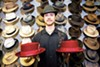 You can find hats — lots of 'em — at Berkeley Hat Company.