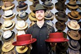 SONYA REVELL - You can find hats — lots of 'em — at Berkeley Hat Company.