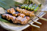 CHRIS DUFFEY - You can't go wrong with any of the yakitori.