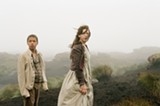 Young Heathcliff (Solomon Glave) and Cathy (Shannon Beer) form a deep bond in Wuthering Heights.