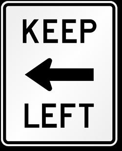 keep-left-arrow-sign-x-r4-8a.png