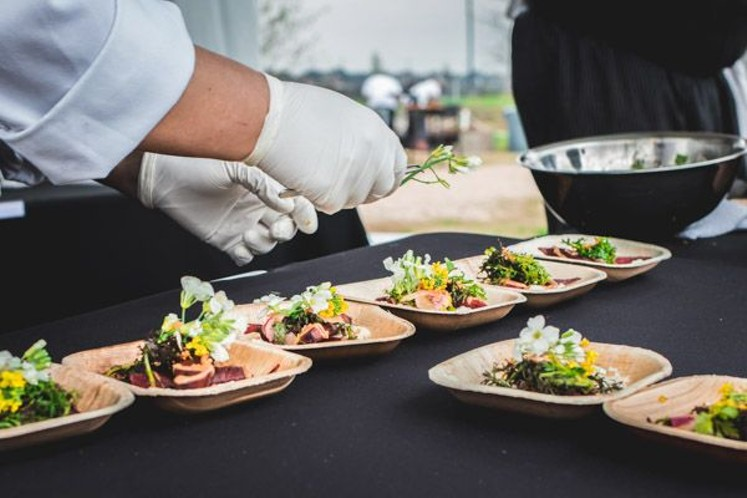 Great chefs and fresh ingredients await guests at Chef Fest. - PHOTO BY CHEF FEST