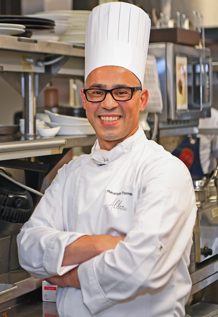 Chef Maurizio Ferrarese is a truffle and risotto maestro. - PHOTO BY HOTEL GRANDUCA