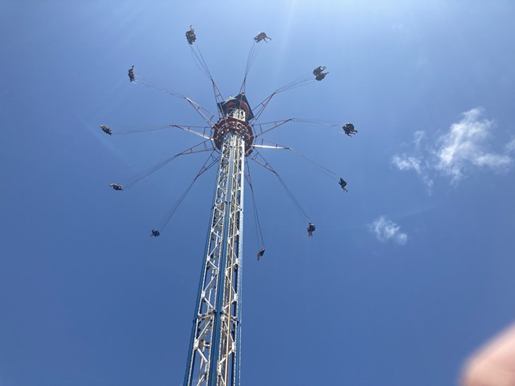 Texas Star Flyer - PHOTO BY JEF ROUNER