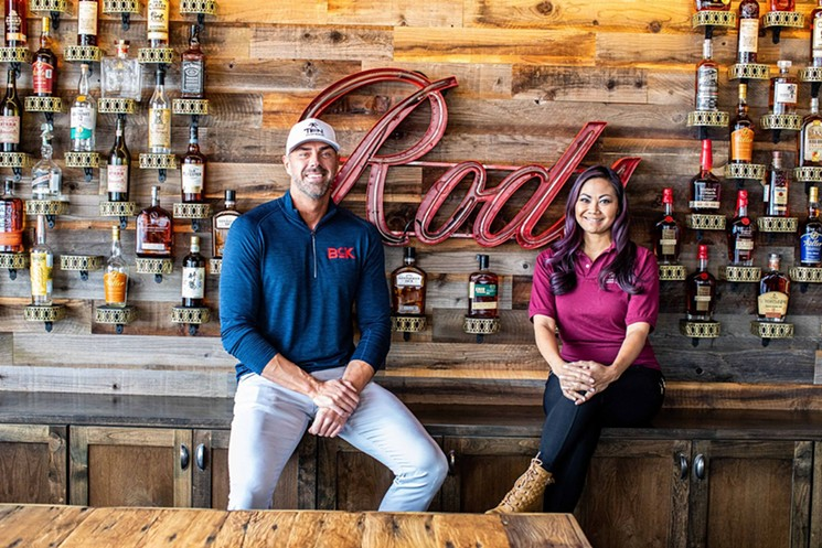 Co-owners John Reed and Leslie Nguyen find Houston a perfect fit for expansion. - PHOTO BY JENNIFER WALES