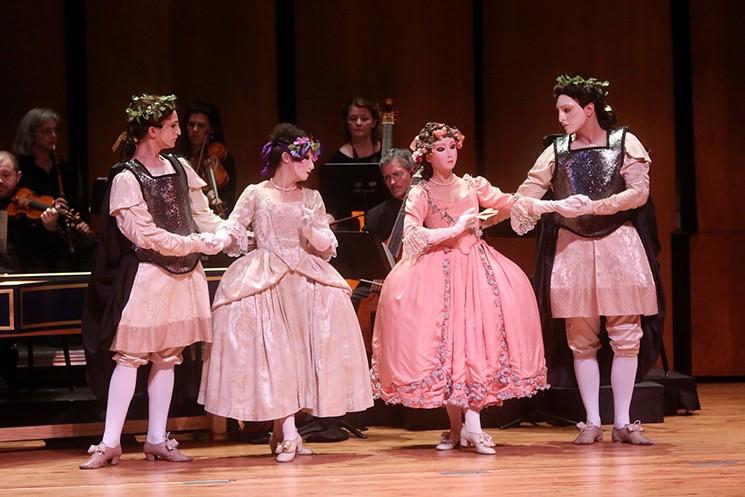 The New York Baroque Dance Company returns to Ars Lyrica for their production of Dido & Aeneas. - PHOTO BY PIN LIM