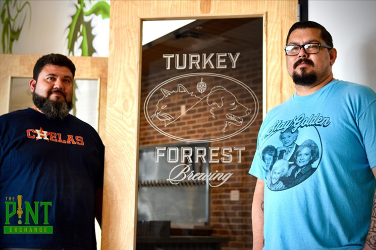Oscar Gonzalez and Louie Espinoza have some Latino-inspired flavors planned for their brews. - PHOTO BY LUIS MONTALVO/THE PINT EXCHANGE