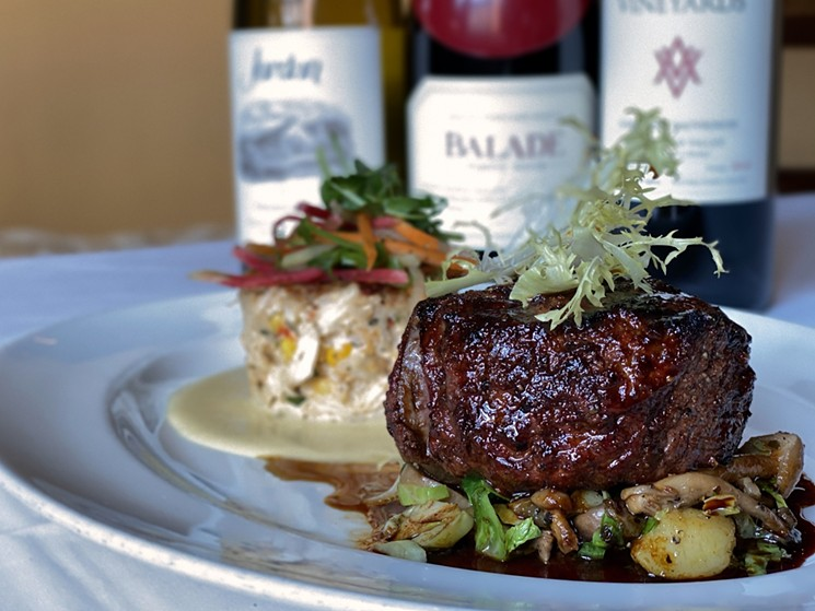 Toast to date night with Brennan's $99 Wine and Dine for Two deal this September. - PHOTO BY ISABEL PROTOMARTIR