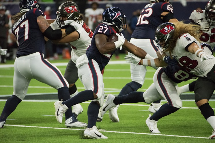 Scottie Phillips has earned a spot on the Texans' 53-man roster. - PHOTO BY JACK GORMAN