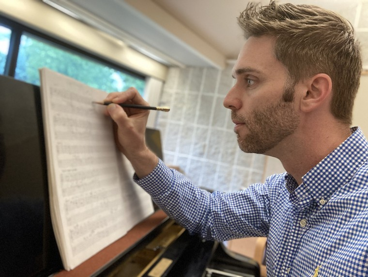 Young composer Daniel Knaggs brings a personal touch to Houston Chamber Choir's season opener, Two Streams. - PHOTO BY CHUCK SMITH