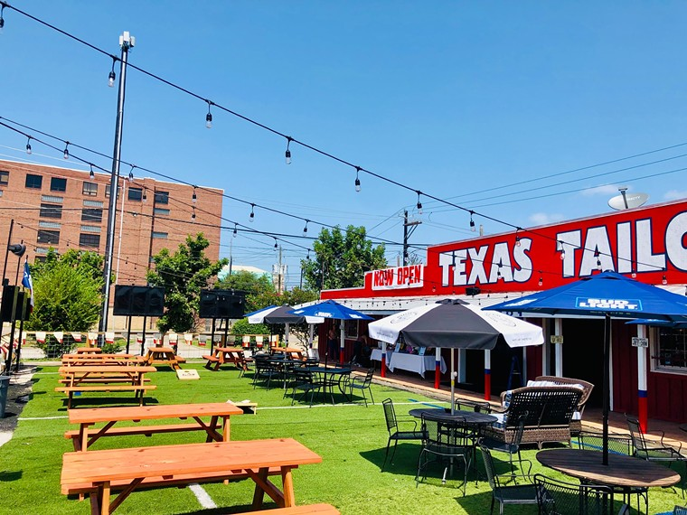 Texas Tailgate is conveniently located for Houston's major stadiums. - PHOTO BY JUAN HERNANDEZ