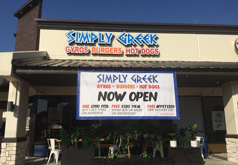 Simply Greek expands to Cypress. - PHOTO BY LORRETTA RUGGIERO