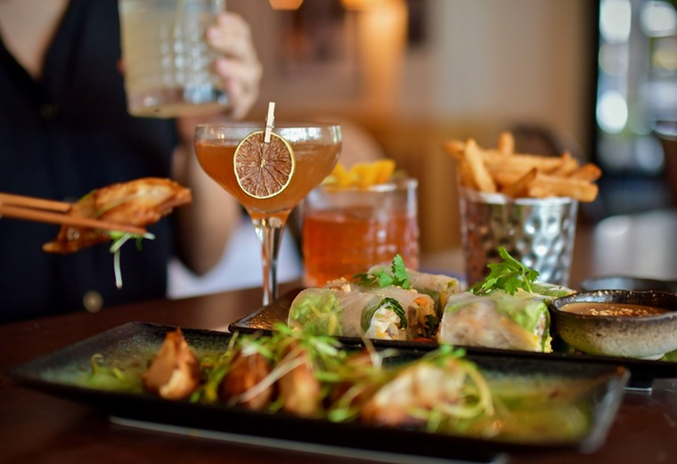 Sip, nosh and unwind with Le Colonial's revamped Social Hour menu. - PHOTO BY ALEX MONTOYA