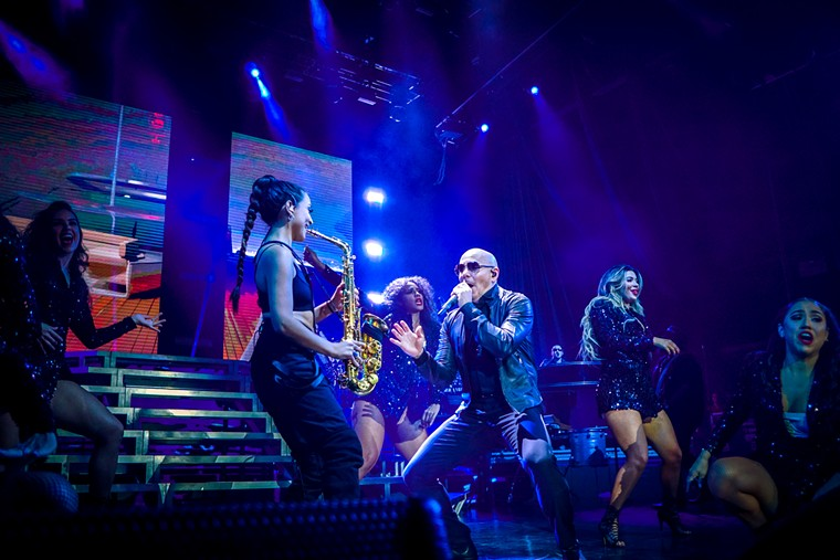 Pitbull's music and stage persona has evolved dramatically since his debut album M.I.A.M.I. was released in 2004. - PHOTO BY MARCO TORRES