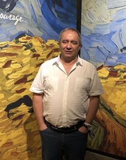 Mario Iacampo, CEO and Creative Director of Exhibition Hub.  - PHOTO BY BOB RUGGIERO