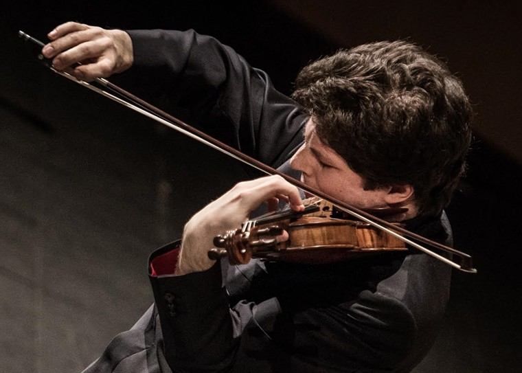 Augustin Hadelich joins Houston Symphony for a weekend of concerts. - PHOTO BY LUCA VALENTINA