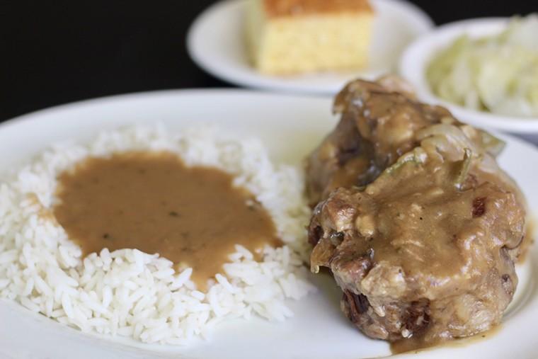 Good gravy, that looks good. - PHOTO BY METOYA SCOTT