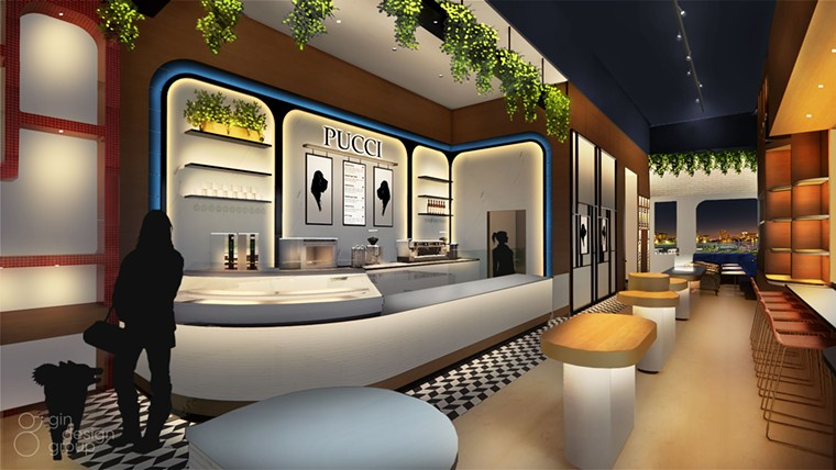 How bougie is your doggie? - RENDERING BY GIN DESIGN GROUP