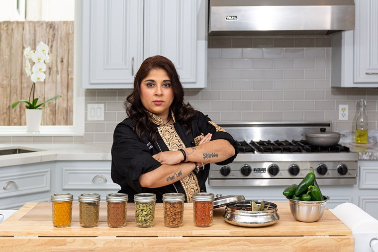 Roshni Gurnani will kick your ass with flavor. - PHOTO BY SHAWN CHIPPENDALE