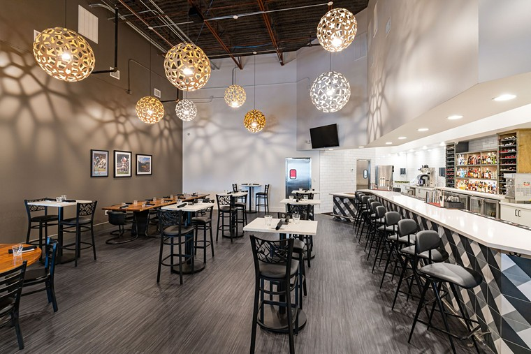 The cozy diner gets a contemporary upgrade at New York Eatery. - PHOTO BY SHAWN CHIPPENDALE