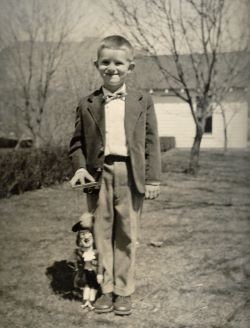 A fan of Hook at an early age. - PHOTO BY R.W. GROOVER