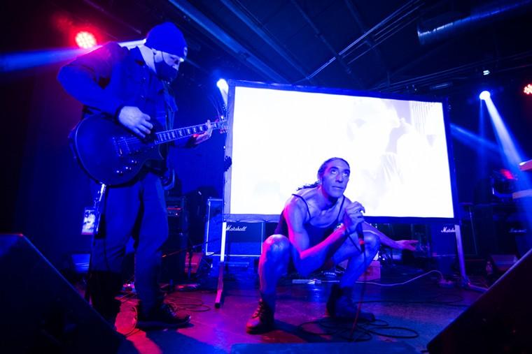 Moodie Black's noise rap entertained fans. - PHOTO BY JACK GORMAN