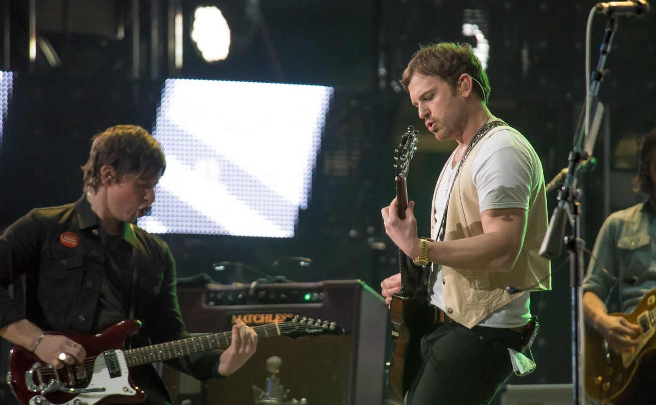 Kings Of Leon at RodeoHouston in 2019