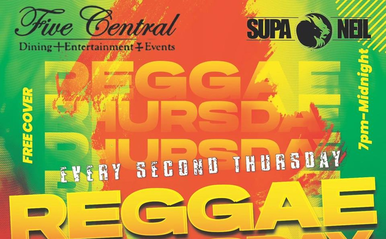 REGGAE THURSDAY hosted by DJ Supa Neil featuring Sunami Force Band