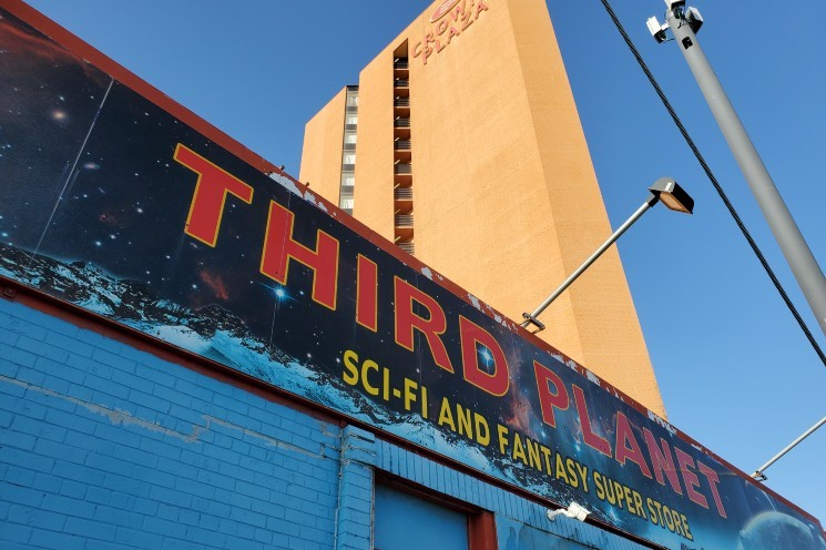 Third Planet and its archnemesis
