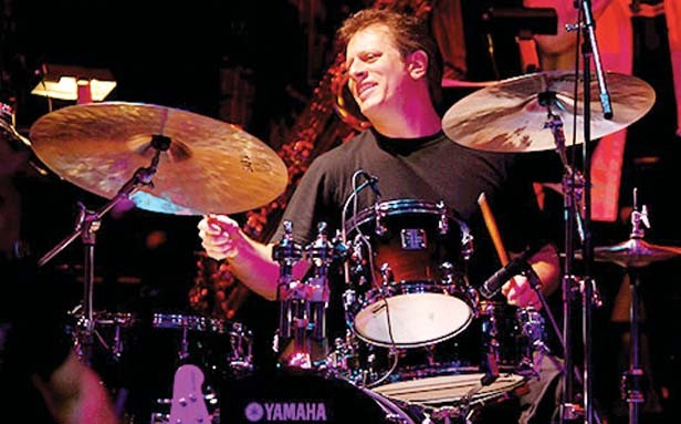 """Modern Drummer Hall of Famer, and named their """"one of the 25 best drummers of all time,"""" Dave Weckl joins Drum Fest at Donnie's Homespun this weekend."""