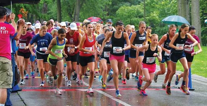 Women's Distance Festival Jul 7, Washington Park