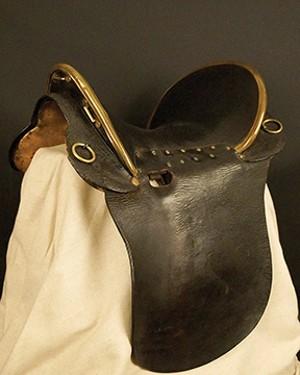 A saddle belonging to Ulysses S. Grant.