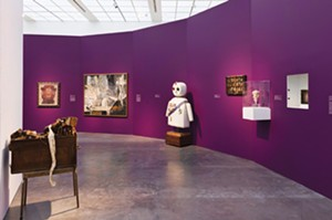 Installation view, Surrealism: The Conjured Life, Museum of Contemporary Art Chicago. - PHOTO BY NATHAN KEAY